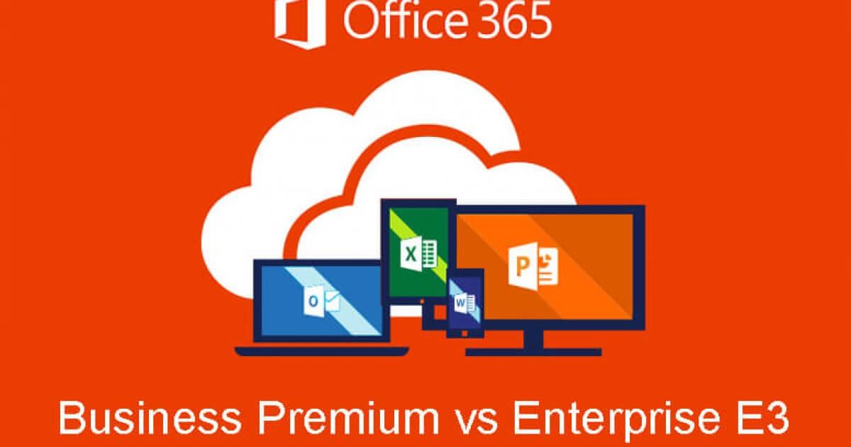 E3 office365