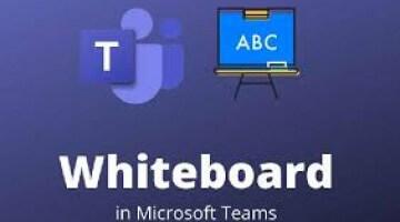 Whiteboardfunctie Microsoft Teams