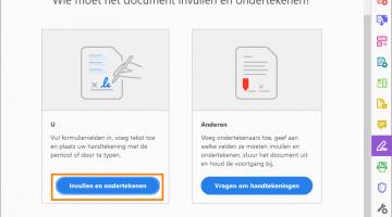 Een PDF ondertekenen