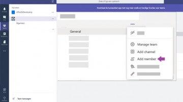 Externen toevoegen binnen Microsoft Teams