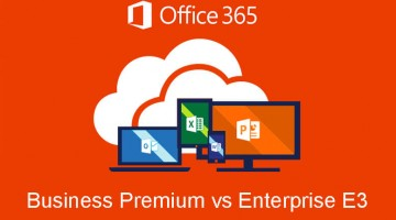 Office 365 Business Premium vs Enterprise E3