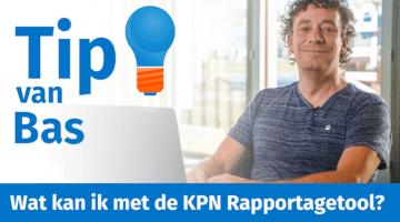 Tip van Bas Peperkoorn KPN Rapportagetool Management Samenvatting thumb klein