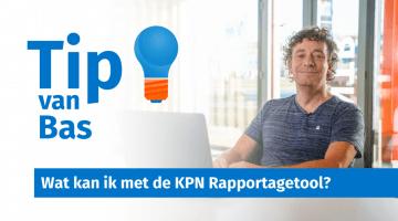 Tip van Bas Peperkoorn KPN Rapportagetool Management Samenvatting thumb
