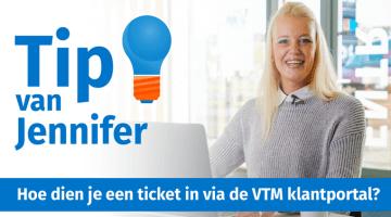Tip van Jennifer Buurmans ticket indienen VTM klantportal thumb klein