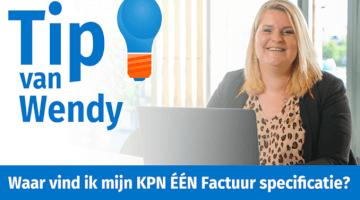 Tip van Wendy Groenheide KPN EEN factuur specificatie uit MijnKPN insight thumb klein