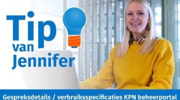Tip van Jennifer gesprekdetails KPN beheerportal thumb klein