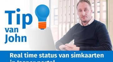 Tip van John de Groot Real time status van simkaarten in Jasper portaal thumbklein