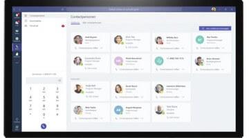 Bellen met Microsoft Teams
