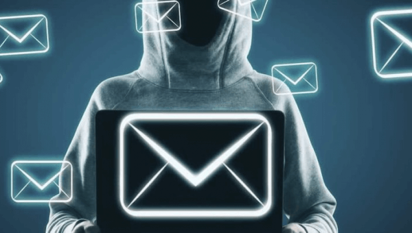 gehackte email