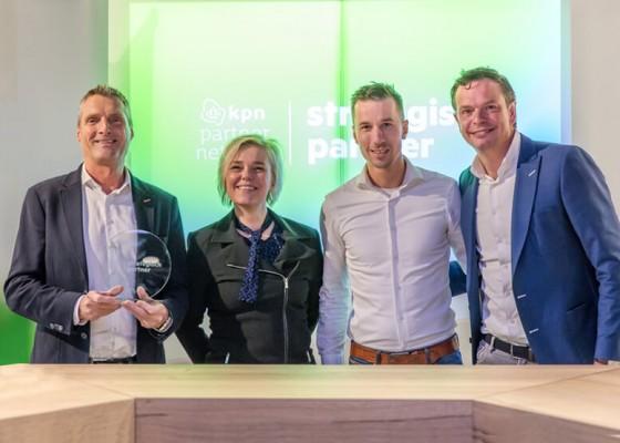 Benoemd tot strategisch partner van KPN
