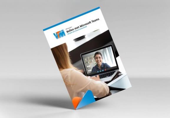 VTM whitepaper Bellen met MS teams cover