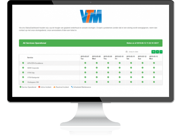 VTM StatusDashboard