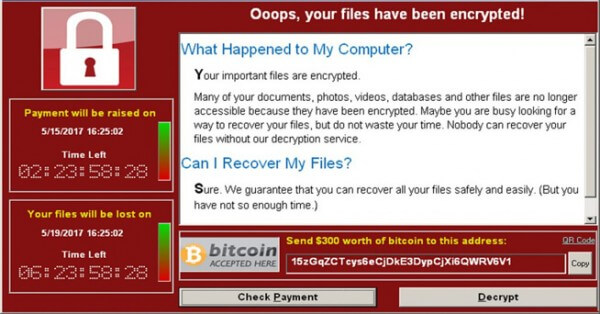 Ransomware oops your computer is locked