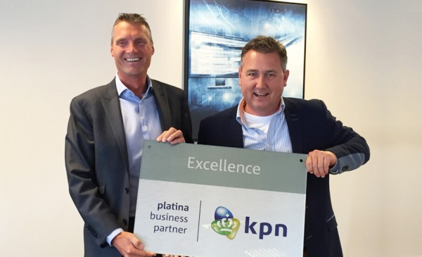 VTM Groep is Excellence Platina Business Partner KPN