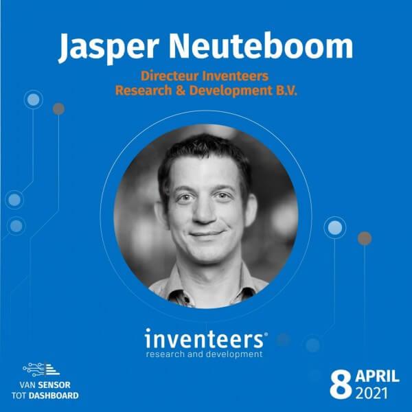 IoT van Sensor tot Dashboard Jasper Neuteboom inventeers kl