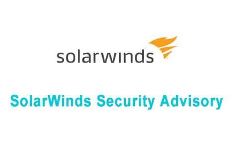 SolarWinds Security Advisory