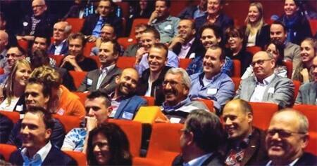 Digitale Veiligheid deelnemers in zaal