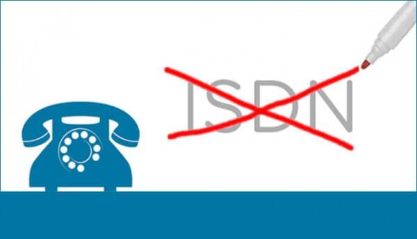 Einde ISDN