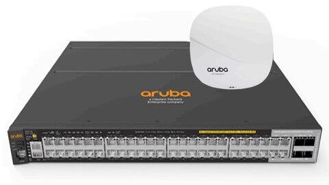 wifi wpa2 aruba
