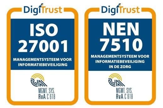 VTM Groep ISO 27001 en NEN 7510 gecertificeerd