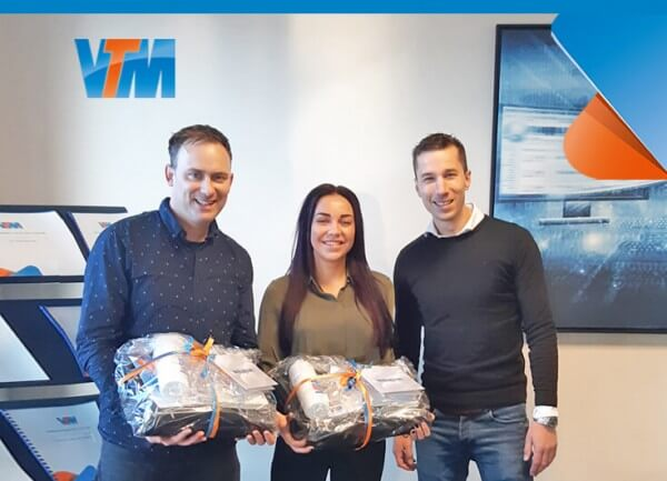 Dave Scholtes en Joelle Kester VTM Business ServiceDesk LI