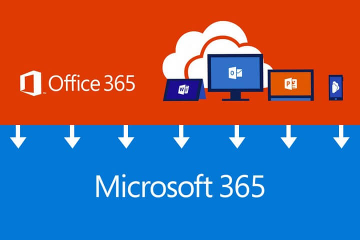 Office 365 wordt Microsoft 365