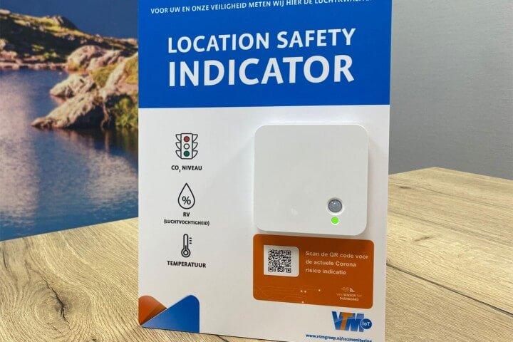 VTM IoT sensor display