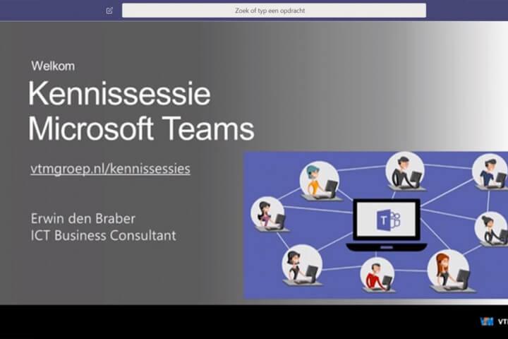 Online kennissessie Microsoft Teams thumb