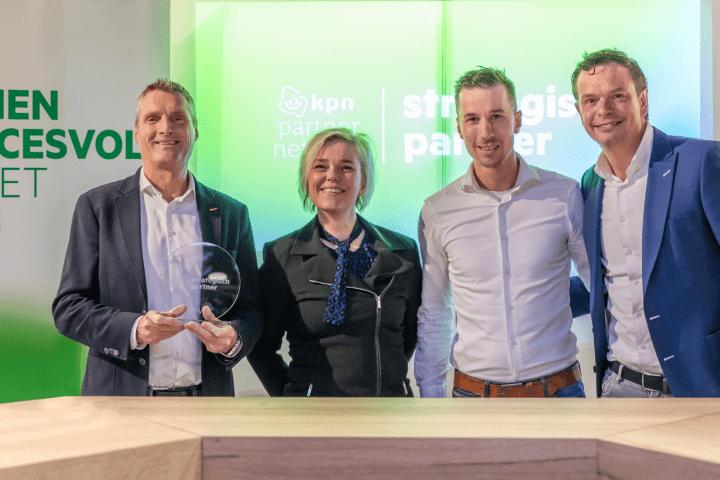 KPN Partner Network Strategische Partners 2020 VTM bokaal