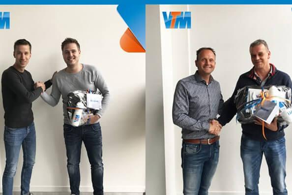 Rick Buitelaar en Michel van der Velden VoIP Engineers VTM