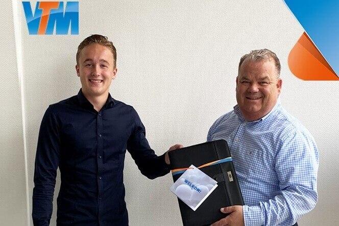 Timo van den Broek junior accountmanager VTM Groep LI