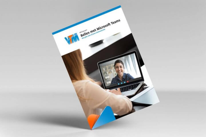 VTM whitepaper Bellen met MS teams cover
